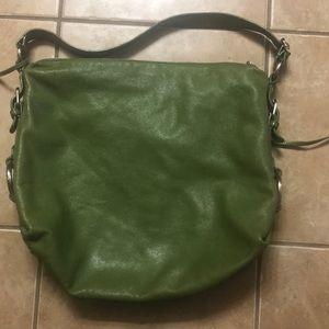Banana republic soft leather bag